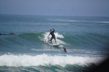 Clases de Paddle Sup en Totora Surf School, suances, cantabria