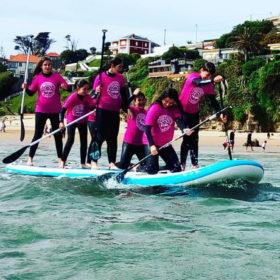 Clases de Surf y paddle sup en Suances, Cantabria. Totora Surf School