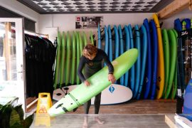 Totora Surf House en Suances, cantabria. Surf Camp
