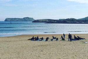 Escuela de Surf en Suances, Cantabria. Totora Surf School